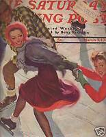 1940 Saturday Evening Post March 2-Nuts about Baseball