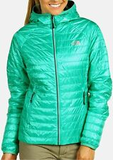 The North Face Blaze Redpoint Micro Hooded Jacket Womens XS Lizzie Green $199