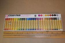 Sakura Japan Jumbo Cray-Pas Vintage New Box of 25 Oil Pastels No. 51116 #1793