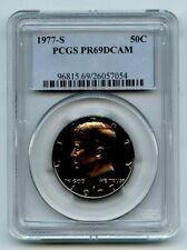 1977 S 50C Kennedy Half Dollar Proof PCGS PR69DCAM