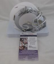 KURT WARNER signed/autographed ST LOUIS RAMS ICE Speed Mini Helmet - JSA S77435