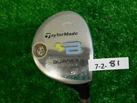 TaylorMade Burner Rescue Tour Launch 25* Womens 5 Hybrid 50 Ladies Graphite
