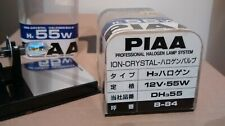 PIAA - H3 X 2 HEADLAMP BULBS - ION CRYSTAL HALOGEN - 12V/55W - VERY RARE JAPAN