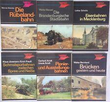 Eisenbahn Verkehrsgeschichte: 6 Bände vom Transpress Verlag