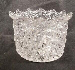 EAPG Daisy & Button Berry Bowl Canton Glass 1880s