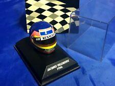 Formula 1 F1 JACQUES VILLENEUVE 1996 Bell MINI HELMET W/Case NEW Renault Elf