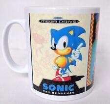 Sonic The Hedgehog 1 2 3 - Coffee MUG CUP - Box Art - Sega - Mega Drive - Gift