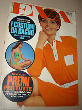 EVA=1968=MARIA GRAZIA BUCCELLA=PETER O'TOOLE=RIVISTA MODA=2 GIUGNO '68