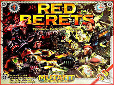 RED BERETS 3D, Mutant Chronicles * A Techno Fantasy Action Game**NEUWERTG*