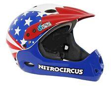 Stars & Stripes Full Face Helmet Safety Helmet Size M 54cm - 58cm Skate Bike BMX