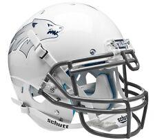 NEVADA RENO WOLF PACK WHITE SCHUTT XP NCAA AUTHENTIC FOOTBALL HELMET