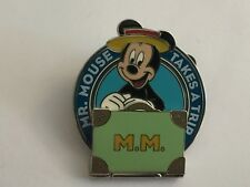 Disney Have A Laugh Mr Mouse Takes A Trip Mickey Pin Hinged Suitcase