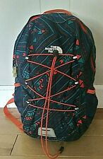 The North Face Happy Camper Youth Backpack Navy Blue Green Orange Kids Childs