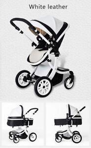 Baby Kinderwagen 2 IN 1 Faltbar Carriage Bequem Kinder Kleinkind Auto Trolley