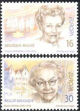 Belgium 1996 Europa/Famous Women/Poet/Writer/Children's Welfare 2v set (n43484)