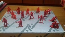 DUNKIN TITO PLASTIC  RUSSIA URSS WWII  14 SOLDIERS LOT 30 mm VERY GOOD CONDITION