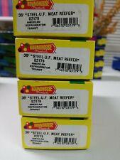 Ho Roundhouse American Refrigerator Transit Lot of 4 Kit # 03179