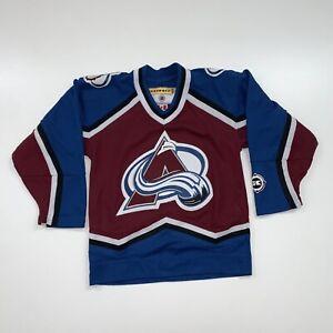 KOHO Colorado Avalanche Jersey Size Youth S/M NHL Hockey