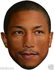 "Pharrell Williams ""Happy"" The Voice Tv show Big Head -Window Cling Decal Sticker"