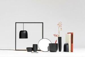 Flos Gaku Wire LED schwarz - Tischleuchte mit magnetischem Spiegel