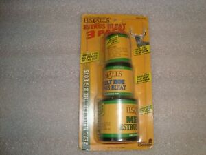 """Hunters Specialties Estrus Bleat """"3 Pack"""" Call Very Hard to Find All in One Set"""