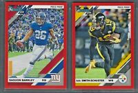 2019 Donruss Football RED Press Proof Vets RCs Complete Your Set - You Pick!
