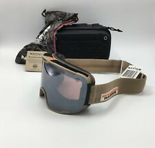 5f9f33e22a Native Eyewear Treeline™ Hawkeye Tan Snow Goggles