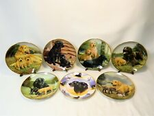 7-Pc Limited Edition Nigel Hemming Collector Plates - Signed!