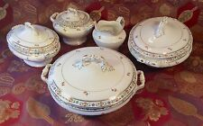 John Maddock & Sons Royal Vitreous MAD6~FOUR Tureens & Creamer 1880-96