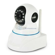 TELECAMERA IP  ST-HIP-292 IP CAMERA WIFI motorizz. da interno CON SLOT SD 120010