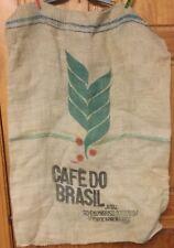 Burlap Cafedo Brasil Coffee Sack