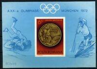 Rumänien MiNr. Block 101 postfrisch/ MNH Olympiade 1972 (Oly504