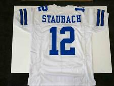 Roger Staubach Jersey Custom Unsigned Stitched White Dallas Jersey Size XL