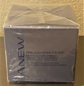 Avon Anew Rejuvenate Day Revitalizing Cream W/Anew Cleanse 2 in 1 Gel Cleanser