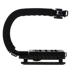 U/C geformt Video Halter Halterung Handheld Stabilisator Griff für Kamera C