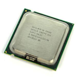 Intel Core 2 Duo E8400 3.00GHz 6MB 1333MHz LGA775 Desktop CPU Processor SLB9J