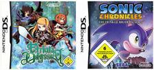 Etrian Odyssey + Sonic Chronicles Die Dunkle Nintendo DS Spiel Sammlung 2x Set