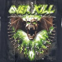 OverKill Men's Small T-Shirt Licensed USA Tour 2013 Tour Thrash Band Merch