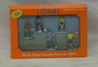 Lionel 6-14241, Work Crew People Pack, Brand New in Box, C-10    /gn