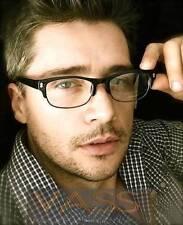Rectangle Horned Rim Clubmaster Clear Lens Fashion Men Unisex Eye Glasses Frames