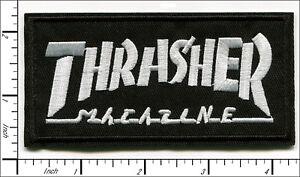 30 Pcs Embroidered Iron on patches Thrasher Magazine AP056tT1