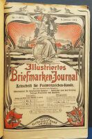 Illustriertes Briefmarken Journal Jahrgang 1913 Jahrgang komplett Klemmbinder