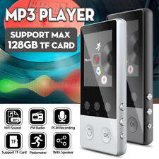 Portable bluetooth Mp3 Music Player Fm Hi-Fi Lossless Support up to 128Gb ✌ C