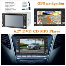 "Car Player 6.2 ""Touch Screen 2-DIN Car In Dash Radio Bluetooth DVD CD Player GPS"