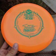Orange Paul McBeth Grand Slam Star Destroyer Disc Golf Innova Max Weight