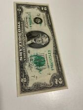 1976 Two Dollar Ink Smear Error Note, Beautiful�
