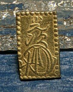 日本 Japan 金貨 Gold Coin 明治二分判金 2 Bu-Ban-Kin 明治 Meij(1868-1869) Meiji Edo Mint XF++