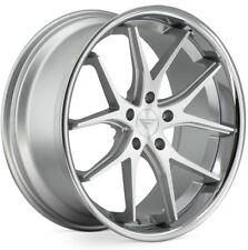 20x9/10.5 Ferrada FR2 5x115 +15 Silver Wheels Fits Chrysler Dodge Charger Magnum