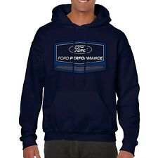 Ford Performance Navy Blue Hooded Sweatshirt Adult Large Hoodie