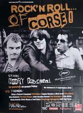 ROCK'N'ROLL...OF CORSE! STING / KIM WIDE / THE CLASH - RARE LARGE MOVIE POSTER